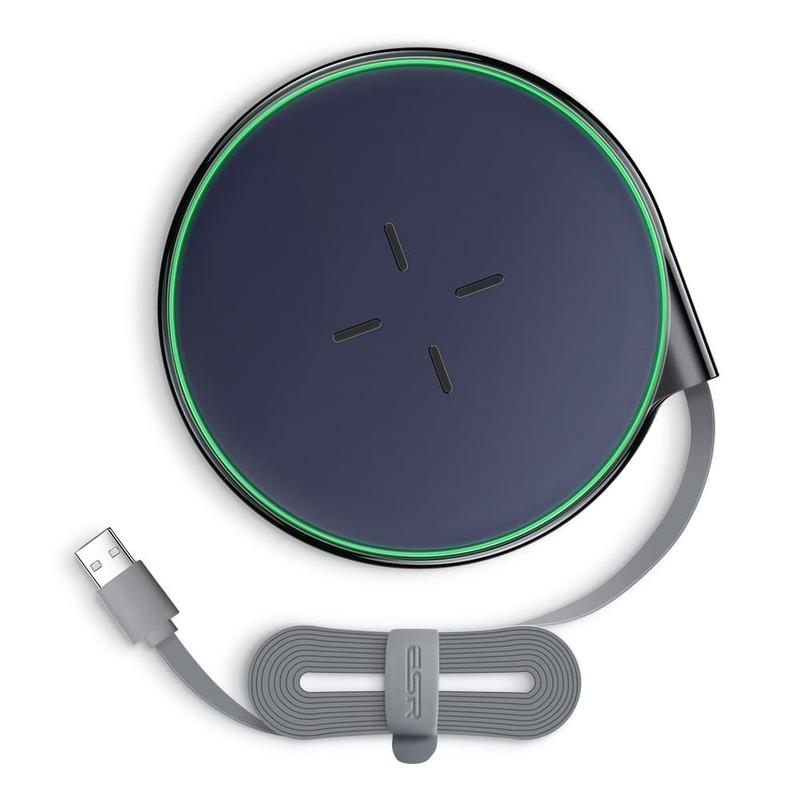 Ultra Slim Wireless Charger 5W10W blue