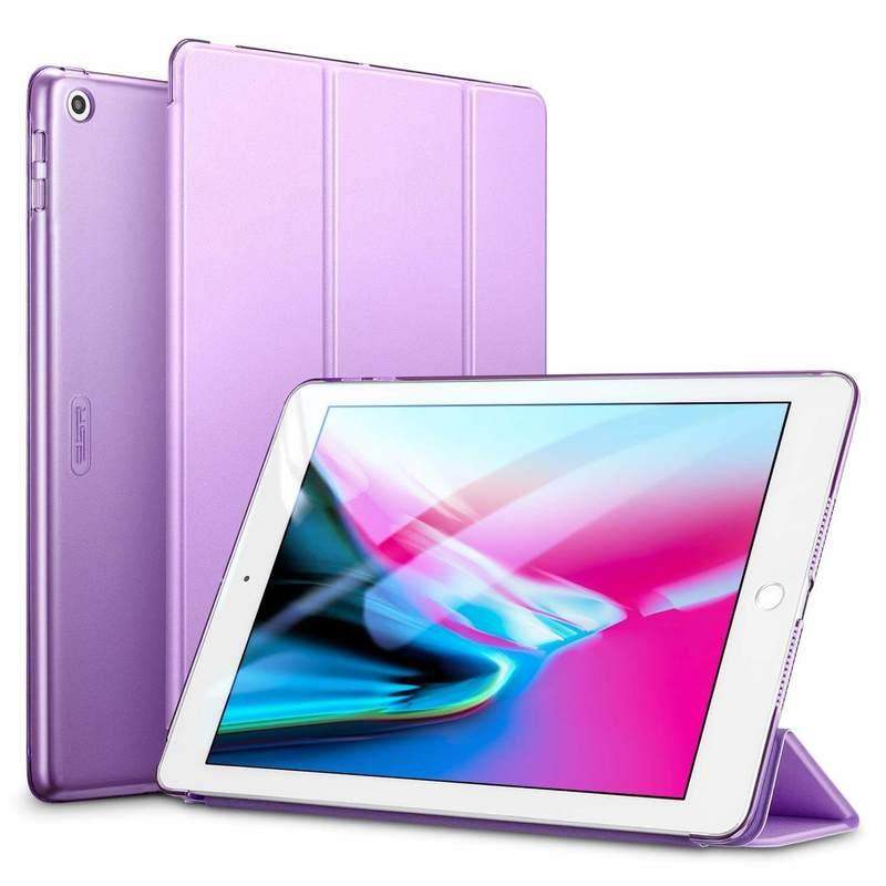 iPad 9.7 2018 2017 Yippee Trifold Smart Case purple