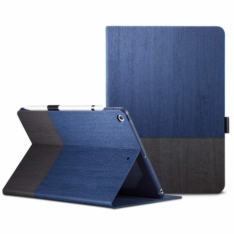 iPad 9.7 20182017 Urban Premium Folio Case blue gray