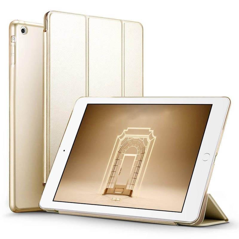iPad Mini Mini 2 Mini 3 Yippee Trifold Smart Case gold