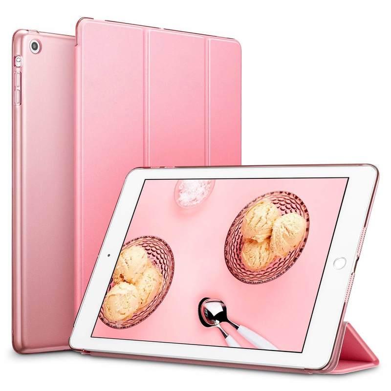 iPad Mini Mini 2 Mini 3 Yippee Trifold Smart Case pink