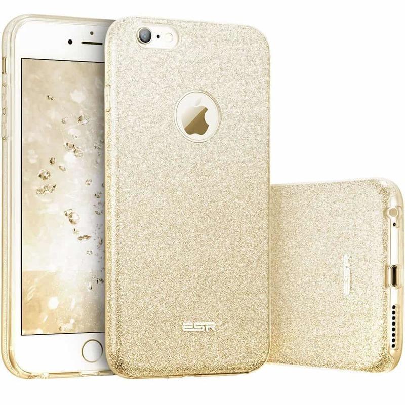 iPhone 6s6 Makeup Glitter Case gold