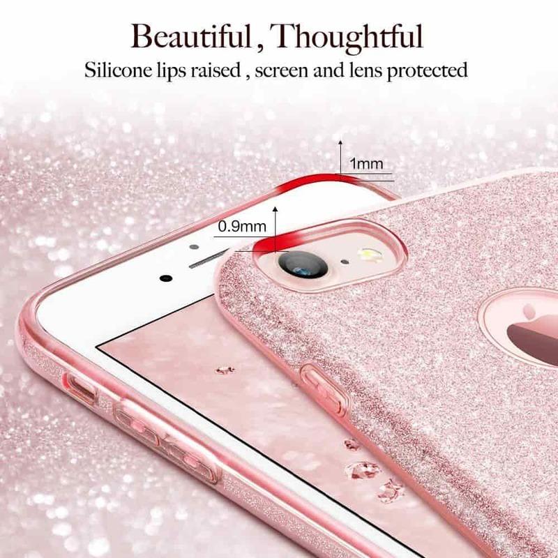 iPhone 7 Makeup Glitter Case-4