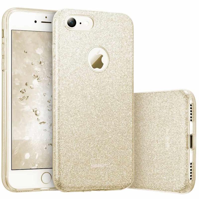 iPhone 7 Makeup Glitter Case-gold