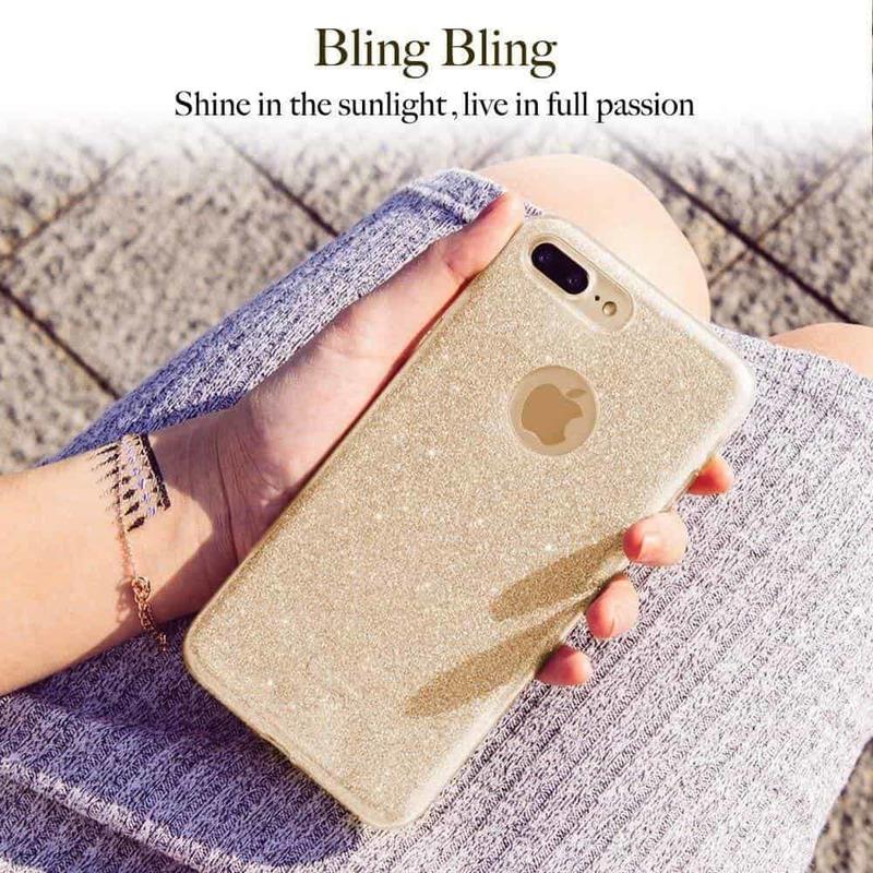 iPhone 7 Plus Makeup Glitter Case-2