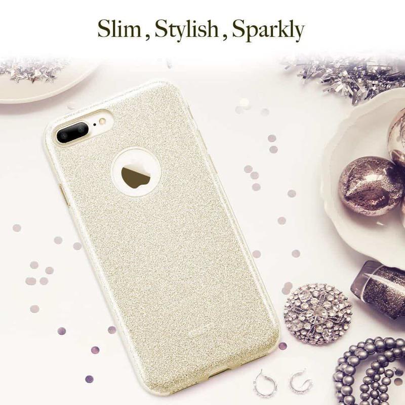 iPhone 7 Plus Makeup Glitter Case-3