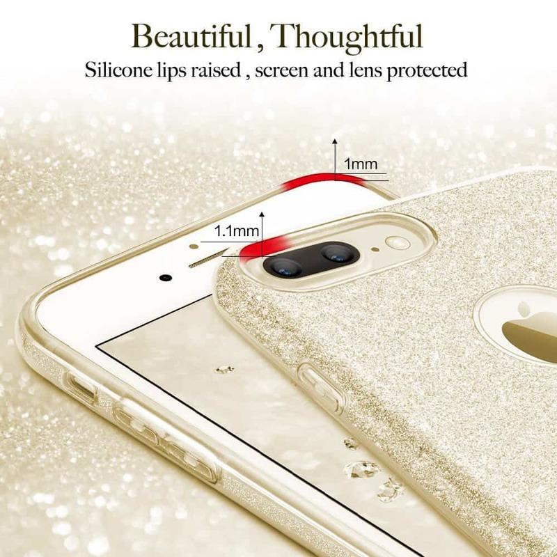 iPhone 7 Plus Makeup Glitter Case-4