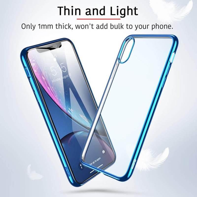 iPhone XR Slim Clear Soft TPU Case 1