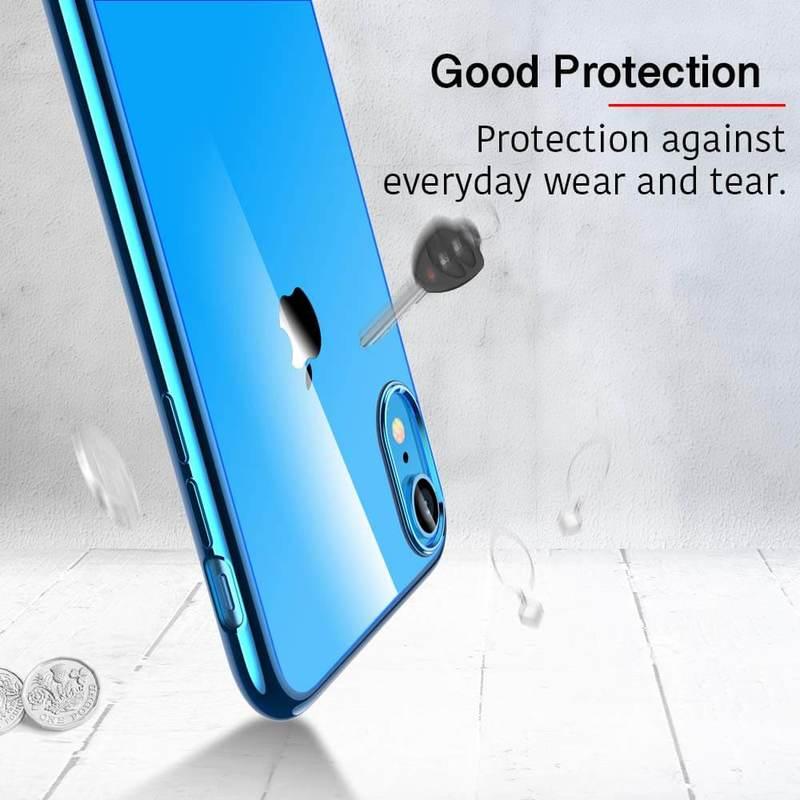iPhone XR Slim Clear Soft TPU Case 3