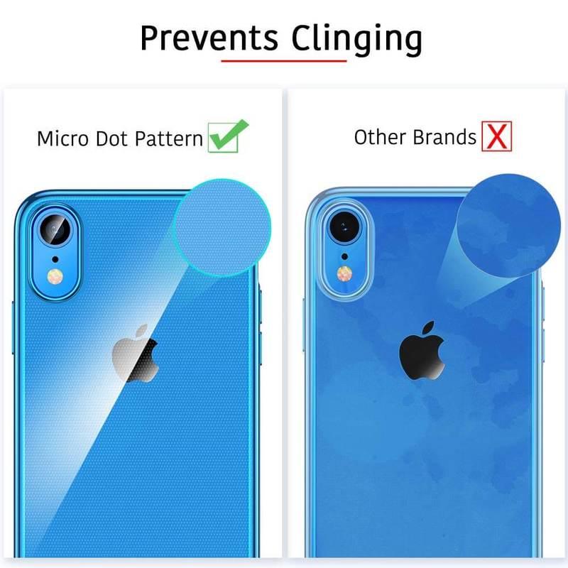 iPhone XR Slim Clear Soft TPU Case 5