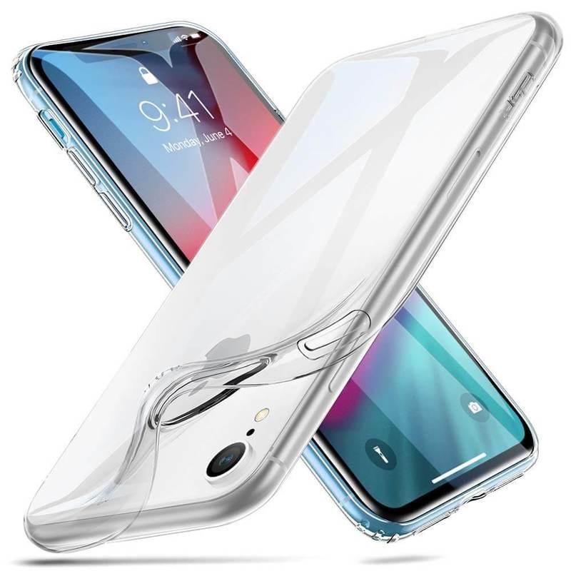 iPhone XR Slim Clear Soft TPU Case clear