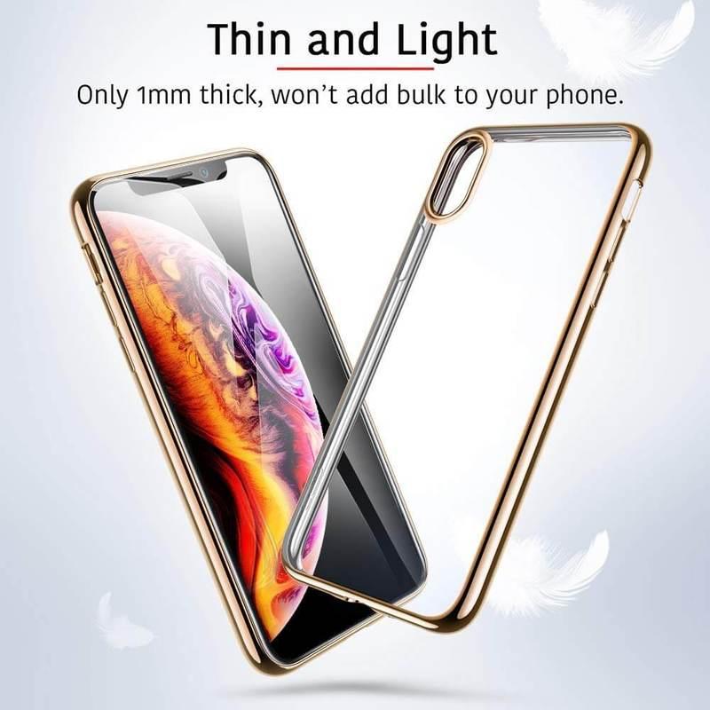 iPhone XS Max Slim Clear Soft TPU Case 1
