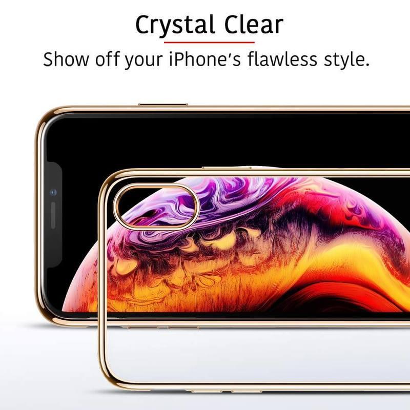 iPhone XS Max Slim Clear Soft TPU Case 2