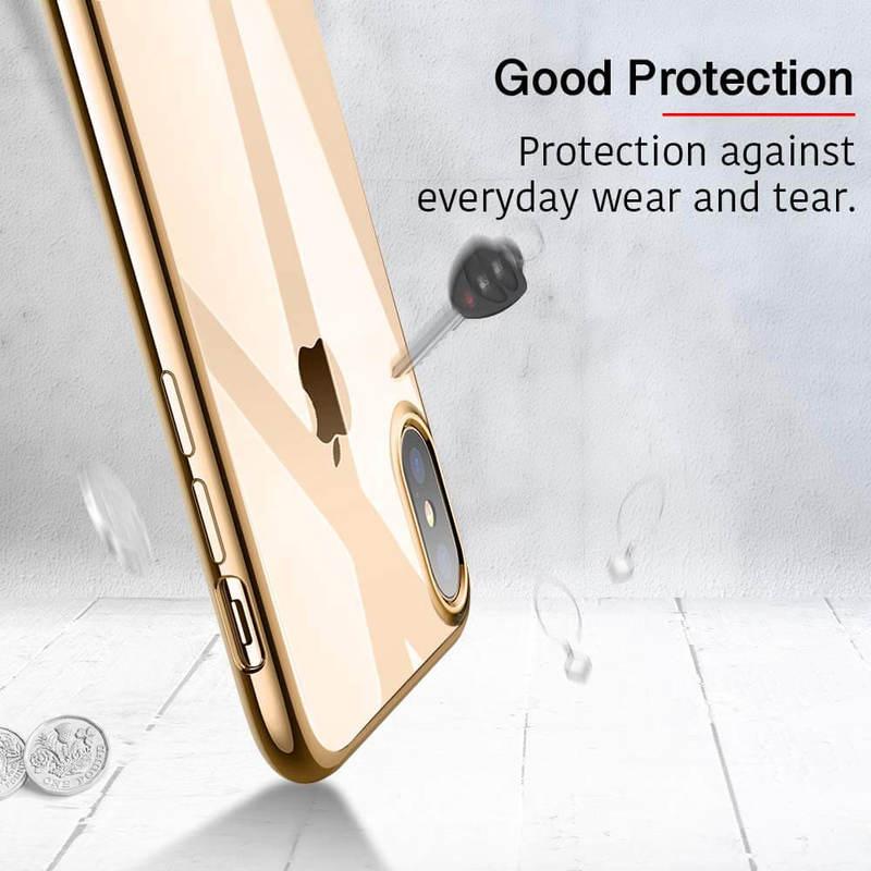 iPhone XS Max Slim Clear Soft TPU Case 4
