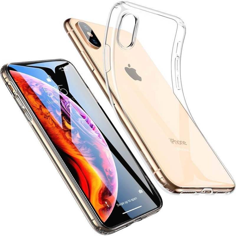 iPhone XS Max Slim Clear Soft TPU Case clear