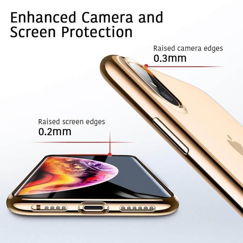 iPhone XS Max Slim Clear Soft TPU Case5 5