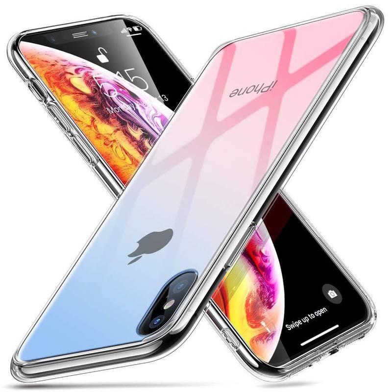 iPhone XSX Mimic Tempered Glass Case-skyfire-gem