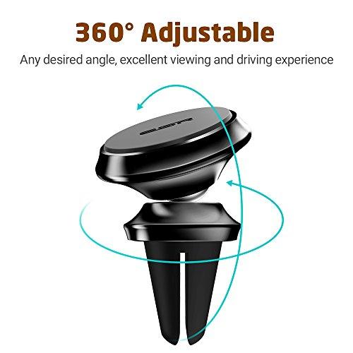 magnetic air vent car phone holder 4