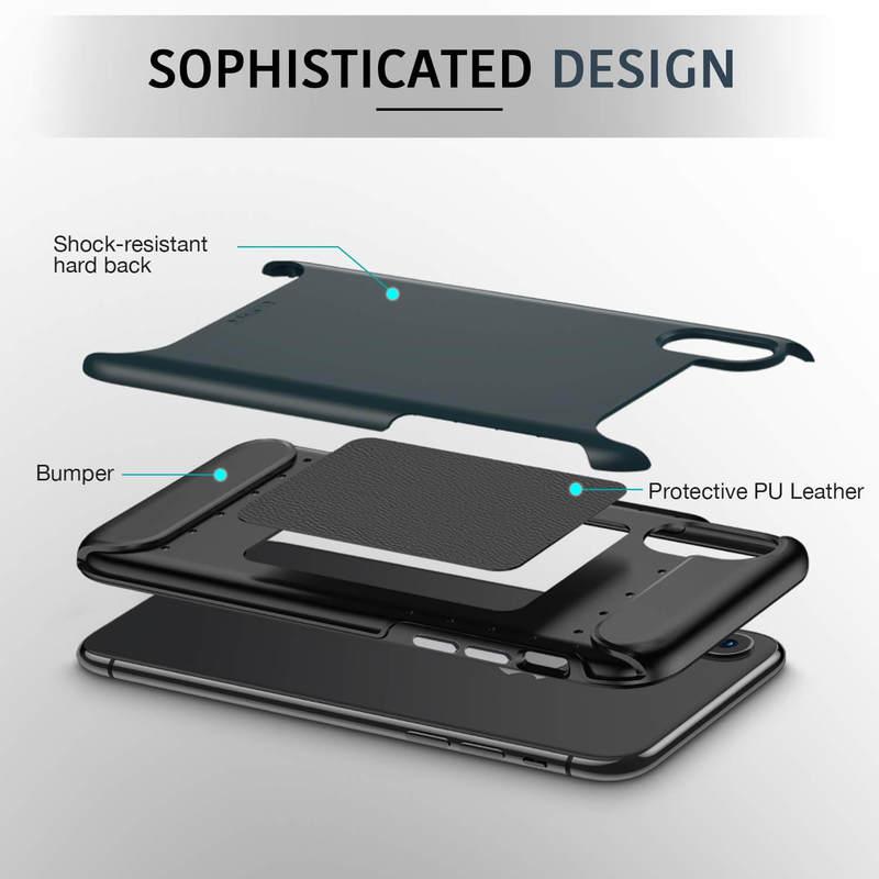 iPhone Xs Max Rambler Rugged Heavy-Duty Case-2