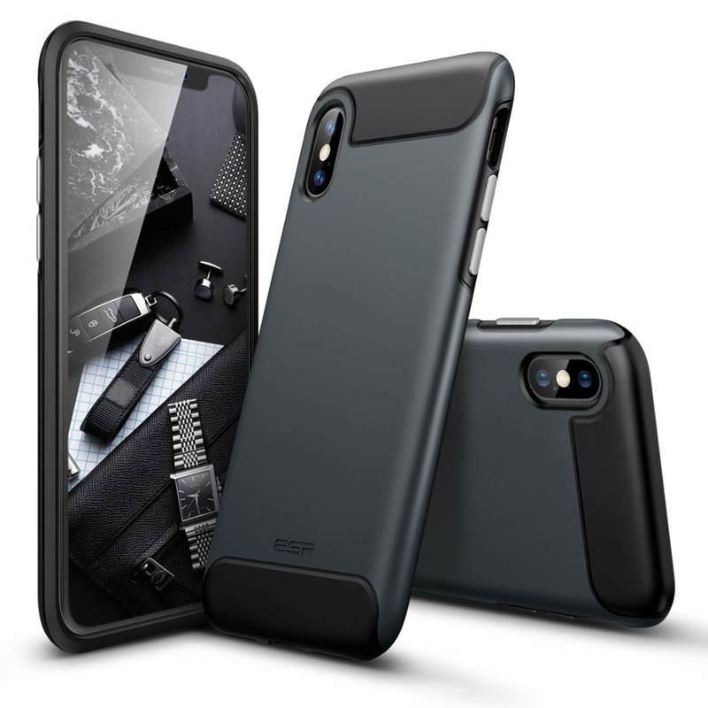 iPhone Xs Max Rambler Rugged Heavy-Duty Case-black