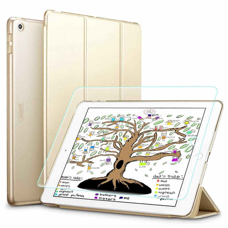iPad 9.7 20182017 Full Coverage Protection Combo gold