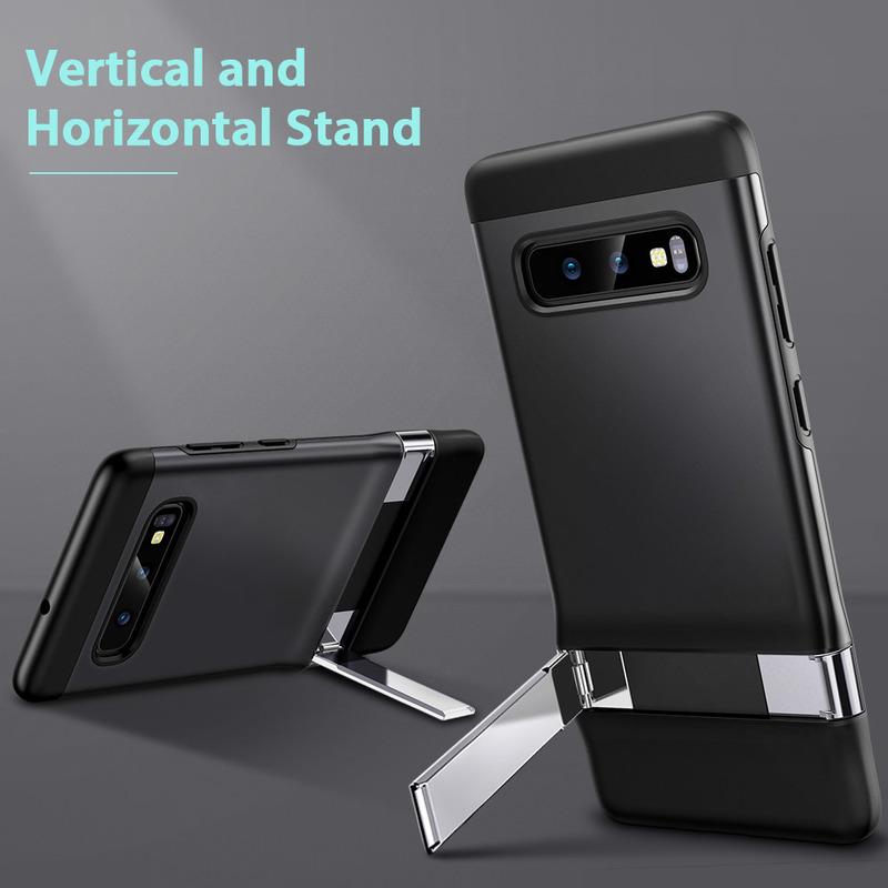 Galaxy S10 E Metal Kickstand Case 1