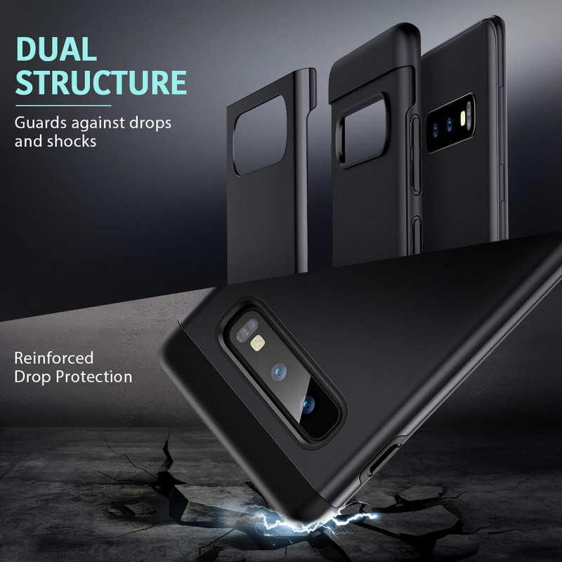 Galaxy S10 E Metal Kickstand Case-3