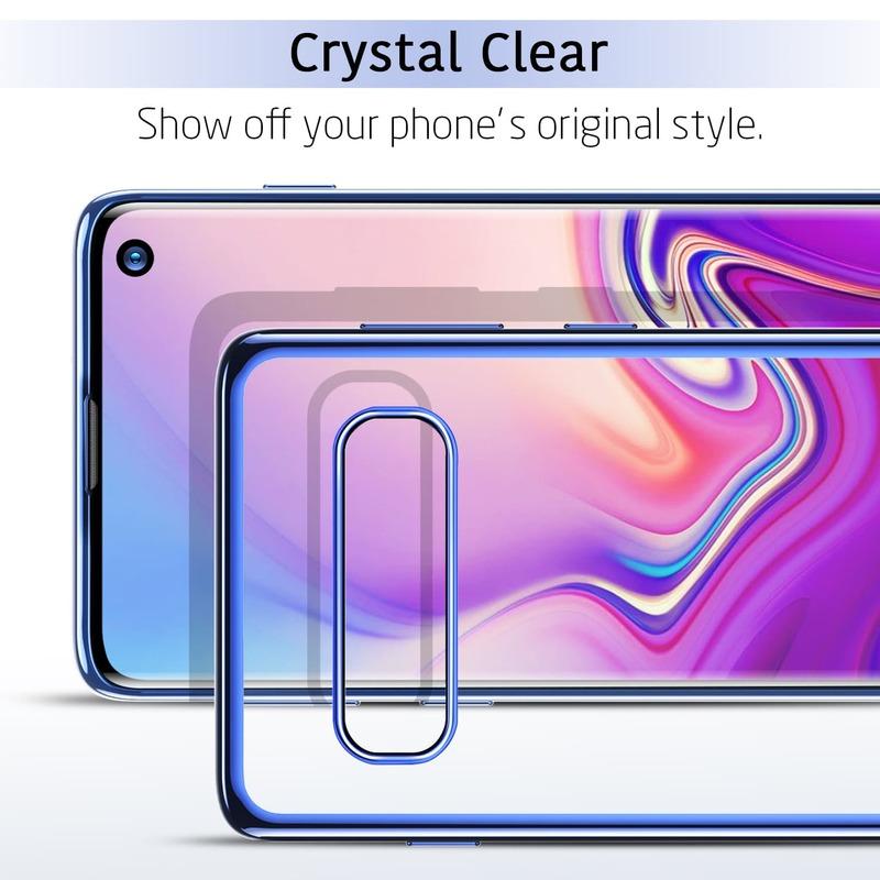 Galaxy S10 Essential Slim Clear Soft TPU Case-2