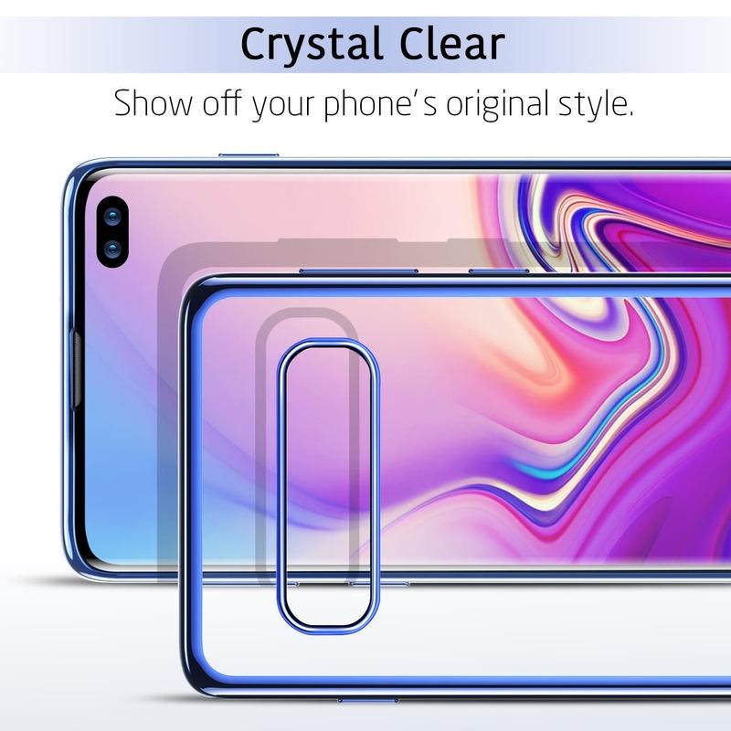 Galaxy S10 Plus Essential Slim Clear Soft TPU Case-2