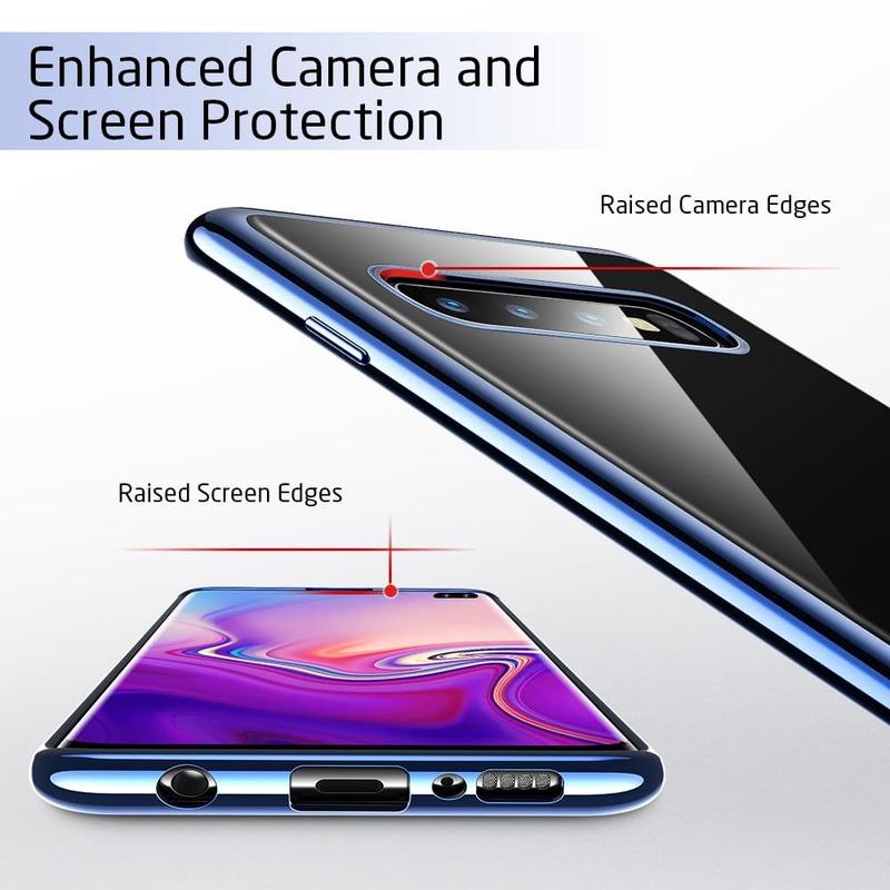 Galaxy S10 Plus Essential Slim Clear Soft TPU Case-4