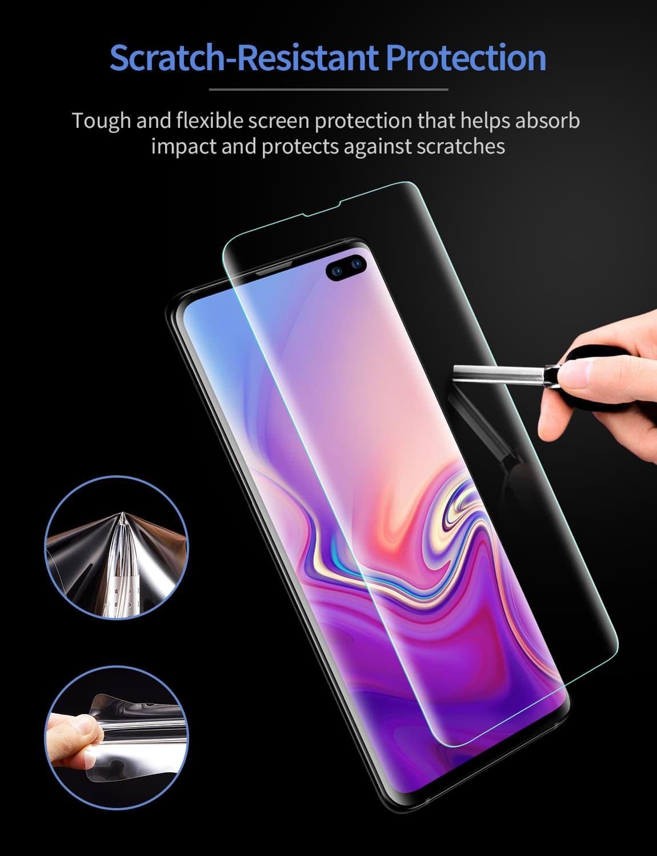 Galaxy S10 Plus Liquid Skin Full-Coverage Screen Protector-4