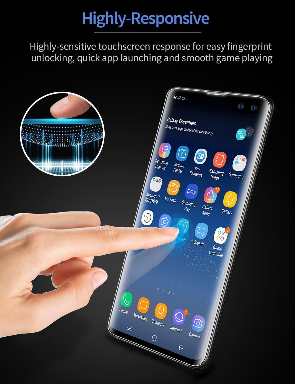 Galaxy S10 Plus Liquid Skin Full-Coverage Screen Protector-5