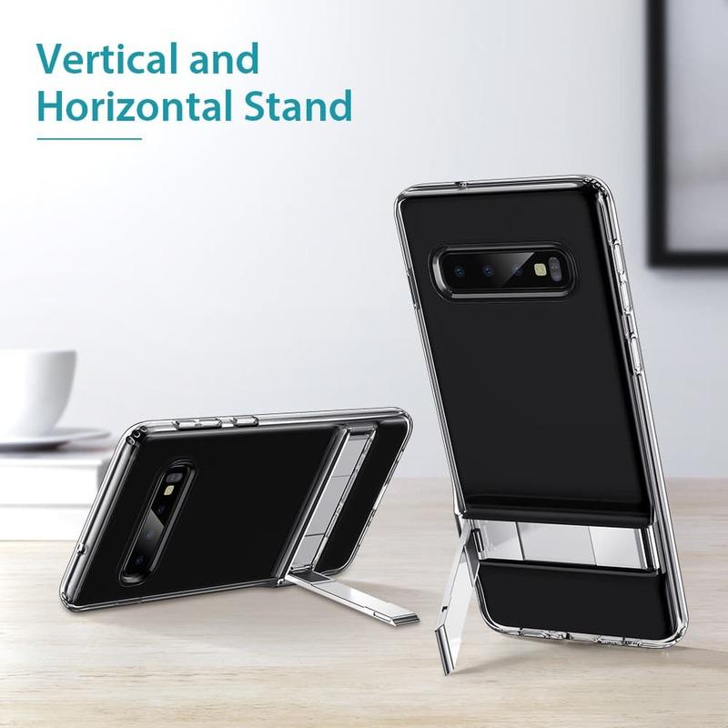 Galaxy S10 Plus Metal Kickstand Case-1