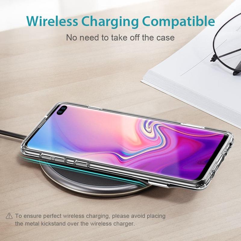 Galaxy S10 Plus Metal Kickstand Case-4