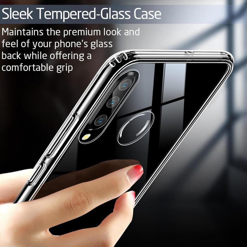 P30 Lite Mimic Tempered Glass Case 3