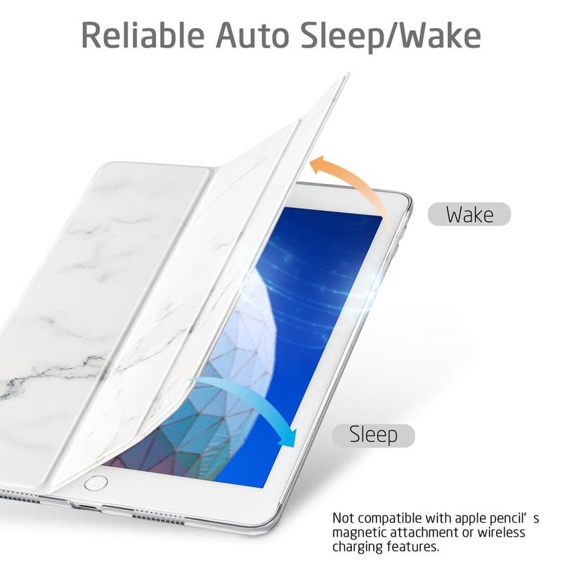 iPad Air 10.5 2019 Marble Trifold Case-2