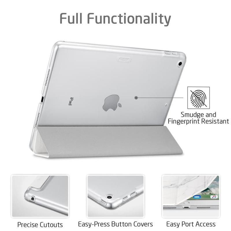 iPad Air 10.5 2019 Marble Trifold Case-6