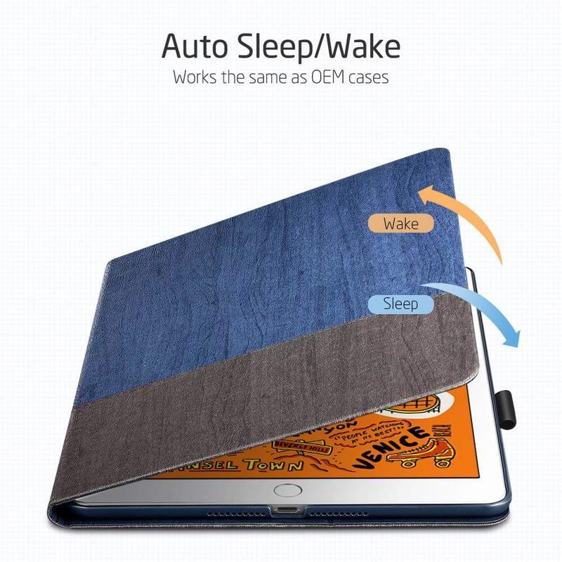 iPad Mini 5 2019 Rebound Slim Smart Case3