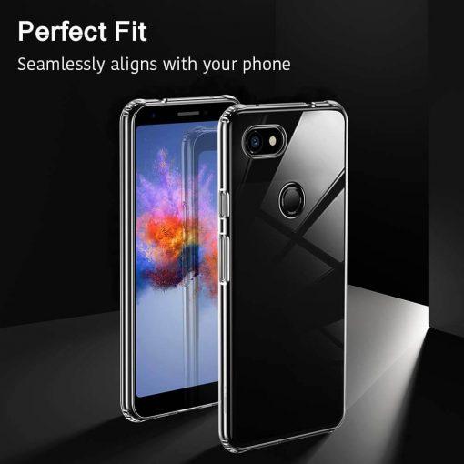 Pixel 3a Essential Slim Clear Soft TPU Case