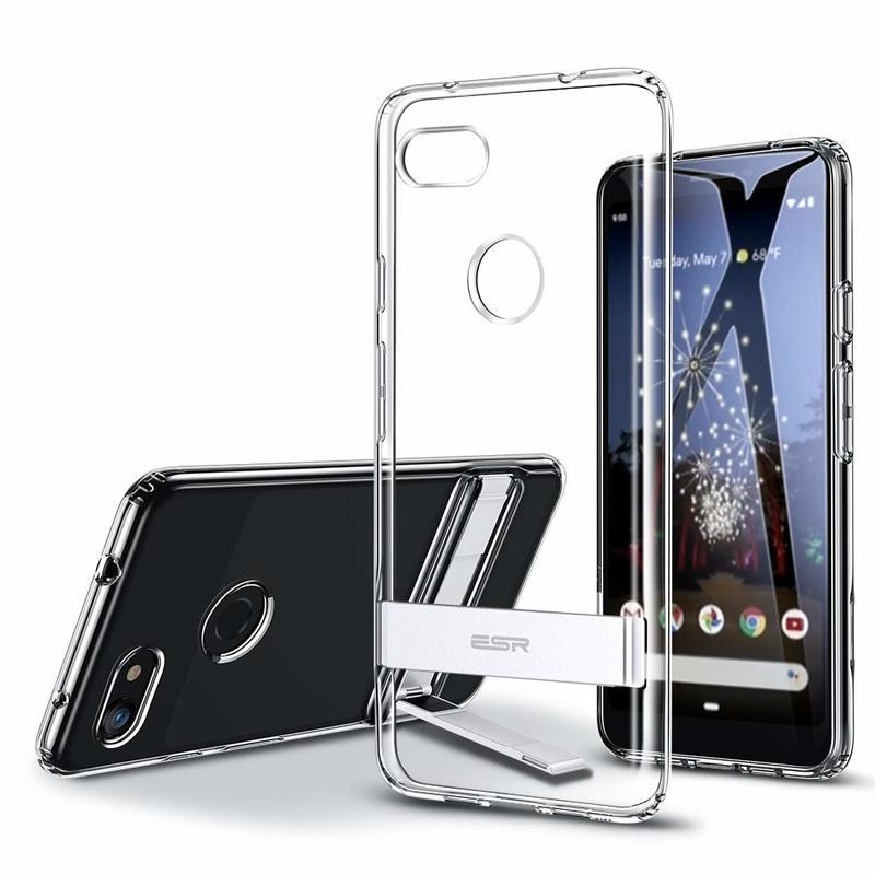 Pixel 3a Metal Kickstand Case 1