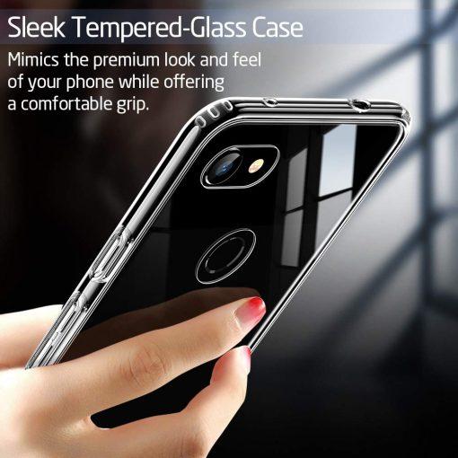 Pixel 3a XL Mimic Tempered Glass Case