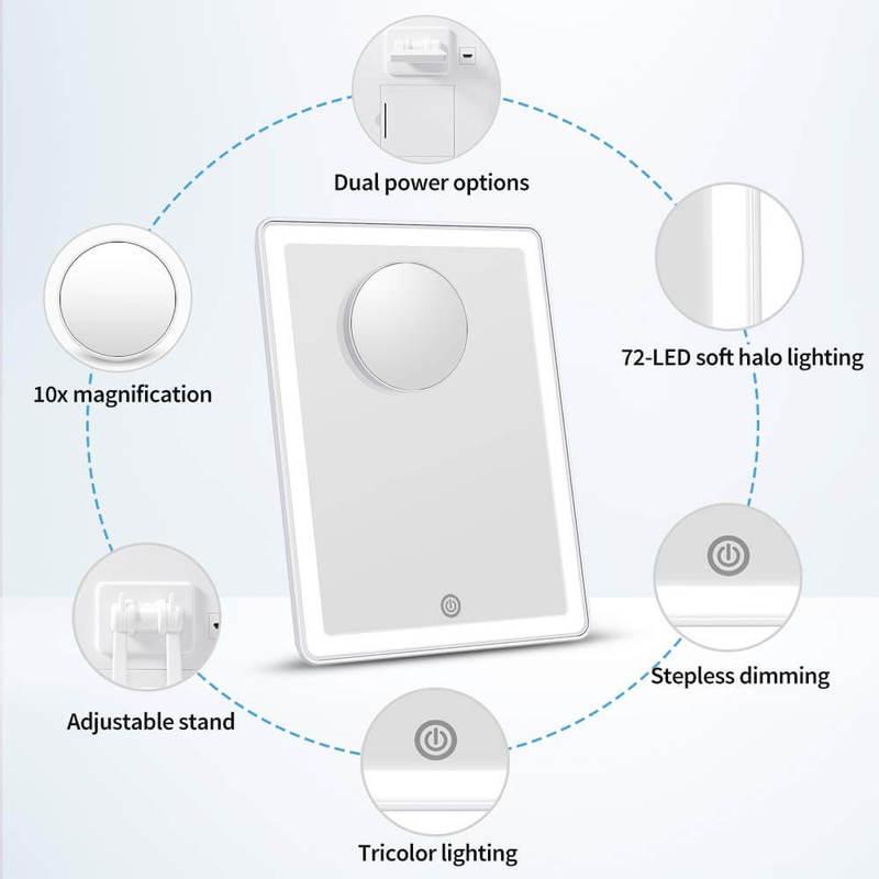 ESR7Gears LED Vanity Mirror7