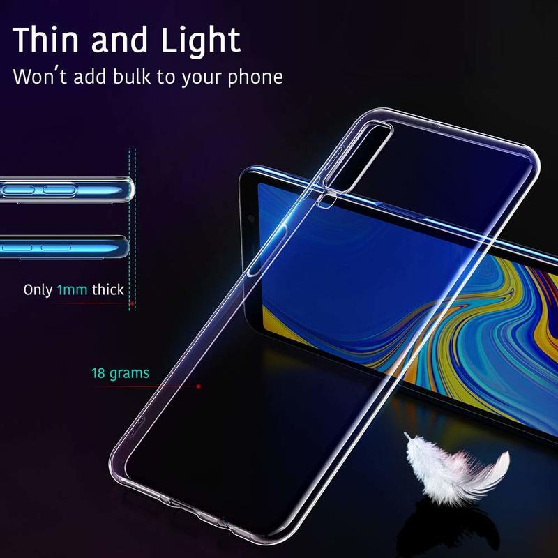 Galaxy A7 Essential Slim Clear Soft TPU Case1